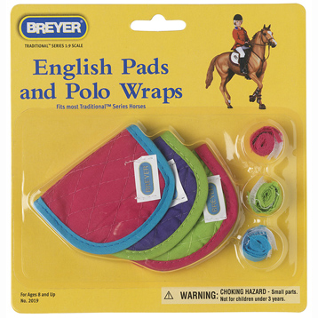 English Pads & Polos Hot Colours Accessory Pack