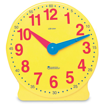 Big Time Learning Clock 12-Hour Demonstration Clock