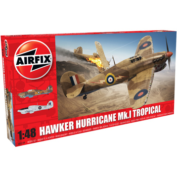 Hawker Hurricane Mk.I Tropical (Scale 1:48)