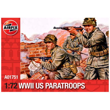 WWll US Paratroops 1:72