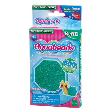 Green Jewel Bead Refill Pack