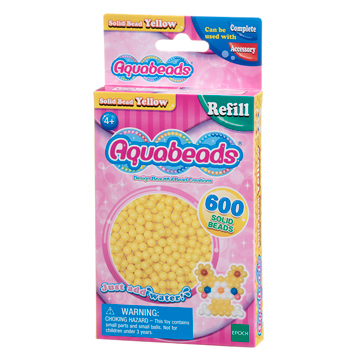 Yellow Solid Bead Refill Pack