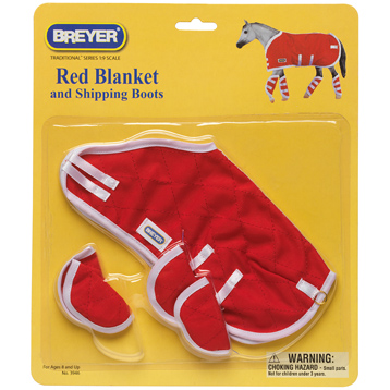Red Blanket & Shipping Boots