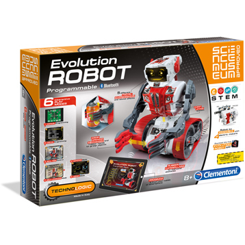 Science Museum Approved Programmable Evolution Robot Building Set
