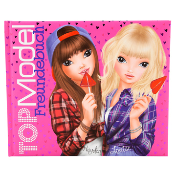 TOPModel Friendship Book (Pink)