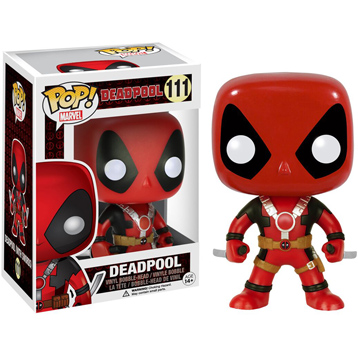 Deadpool (Two Swords) Vinyl Bobblehead