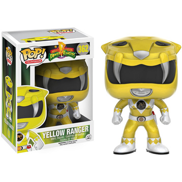 Power Rangers Mighty Morphin' Yellow Ranger Vinyl Figure