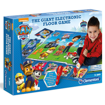 Paw Patrol Giant Electric Floor Game for Boys