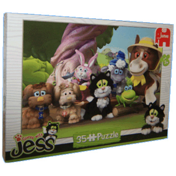 Guess with Jess 35 Piece Puzzle