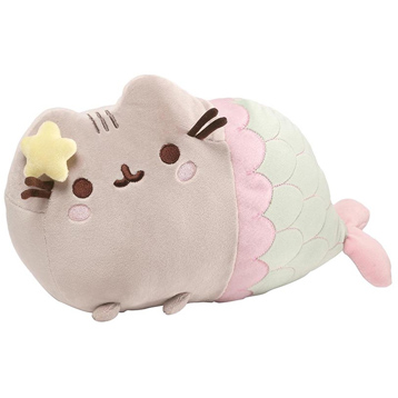 Pusheen with Mermaid Tail Soft Toy