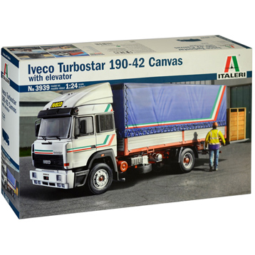 Iveco Turbostar 190-42 Canvas Model Kit (Scale 1:24)