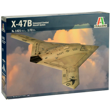 X-47B U.S. Unmanned Combat Aircraft (Scale 1:72)