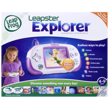 Leapster Explorer in Pink