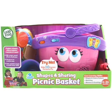 Shapes Sharing Picnic Basket From Leapfrog Wwsm