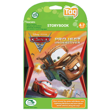 Disney Pixar Cars 2 Project Undercover