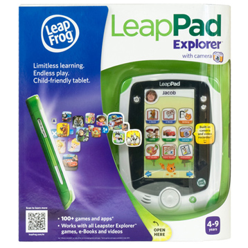 LeapPad Explorer Green