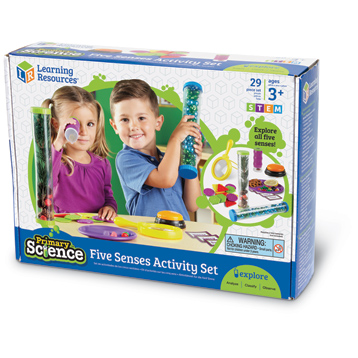 Primary Science Five Senses Activity Set