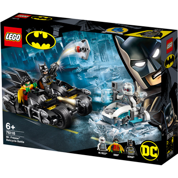 Mr. Freeze™ Batcycle™ Battle 76118