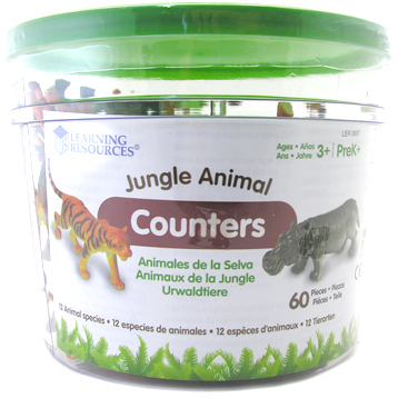Jungle Animal Counters