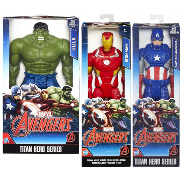 Marvel Avengers Titan Hero Action Figure