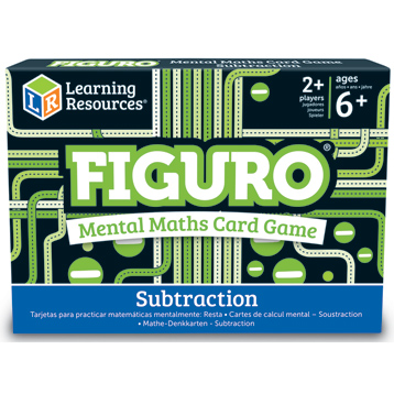 Figuro Mental Maths Match Subtraction Card Game