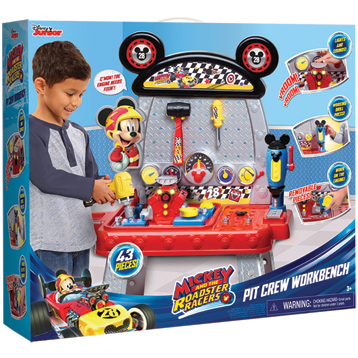 Mickey & The Roadster Racers Toy Pit Crew Workbench