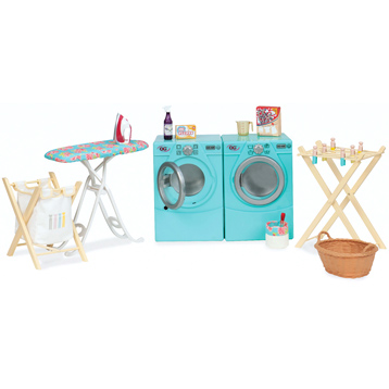 Tumble & Spin Laundry Playset