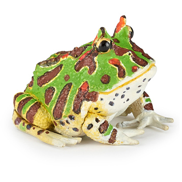 Wild Animal Kingdom Horned Frog Figure