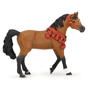 Horses Arabian Horse in Parade Dress Figure
