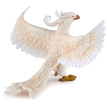 Fantasy World White Phoenix Figure