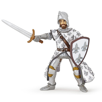 The Medieval Era White Prince Phillippe Figure