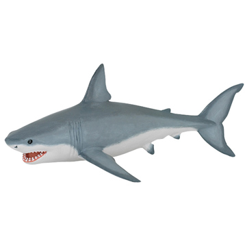 Marine Life Great White Shark Figure