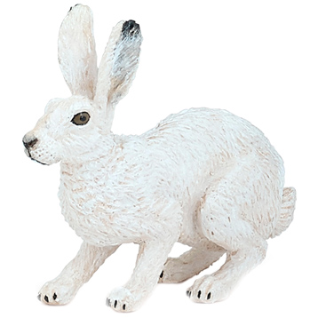 Wild Animal Kingdom Artic Hare Figure