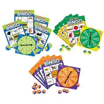 Picture Bingo Games Set