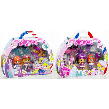 Pinypon Travel Gift Set