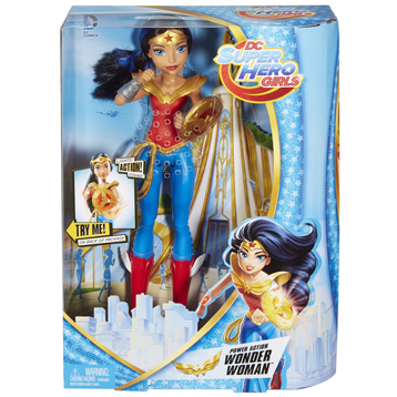 Super Hero Girls Power Action Wonder Woman Doll