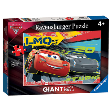 Disney Pixar Cars 3 Giant Floor Puzzle (60 Piece)