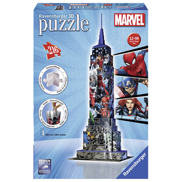 Marvel Empire State Building 216 piece 3D Jigsaw Puzzle