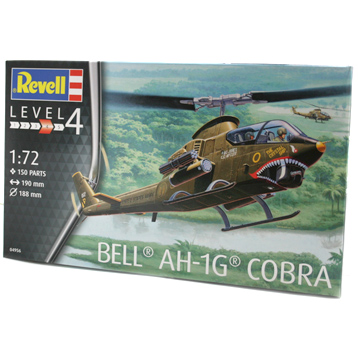 Bell AH-1G Cobra (Level 4) (Scale 1:72)