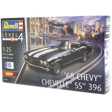 Chevrolet Chevelle 1968 SS 396 (Level 4) (Scale 1:25)
