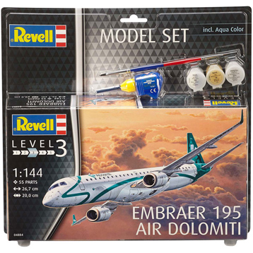 Embraer 195 Air Dolomiti (Level 3) (Scale 1:144)