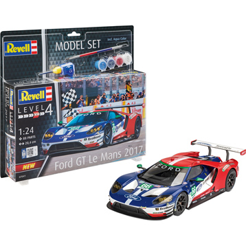 Ford GT Le Mans 2017 Model Set (Level 4) (Scale 1:24)