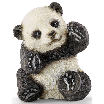 Wild Life Panda Cub, Playing Figure