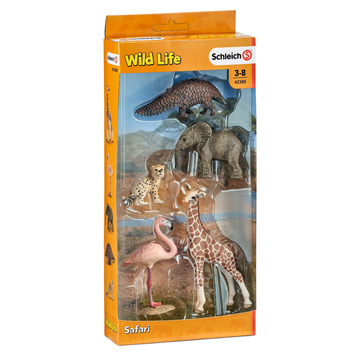 Wild Life Animals 5 Figure Set