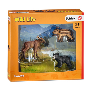 Wild Life Forest Animal Babies Figures
