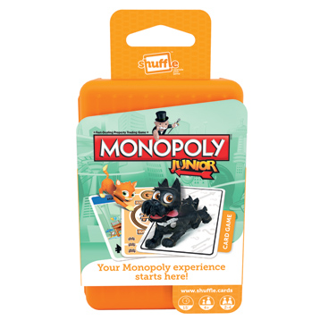 Monopoly Junior Childrens Card Game