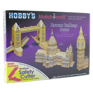 St Paul's Cathedral Matchstick Model Kit