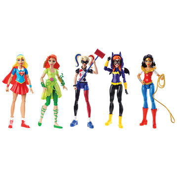 "Super Hero Girls 6"" Action Figures"