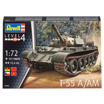 T-55 A/AM (Scale 1:72)