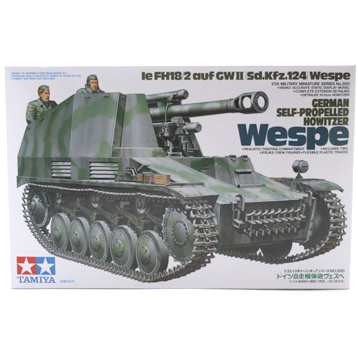 German Self Propelled Howitzer Wespe (Scale 1:35)